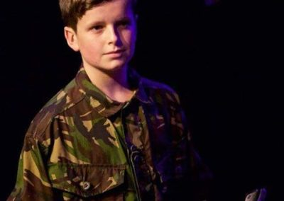 Alexander Mulcahy as Fleance. Photography by Roberts Birze.