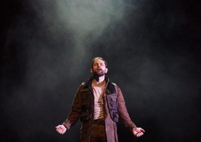 Yalin Ozucelik as Iago. Photography by Daniel Boud.