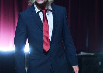 Kyle Leitermann as Mercutio.